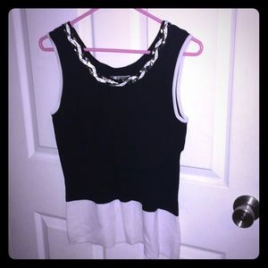 Very stretchy beautiful tank top blouse